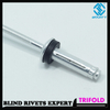 WATERPROOF ALUMINUM BULB TILE RIVETS WITH WASHER